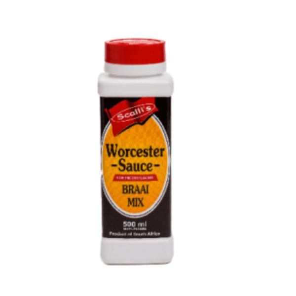 Scalli's Worcester Sauce
