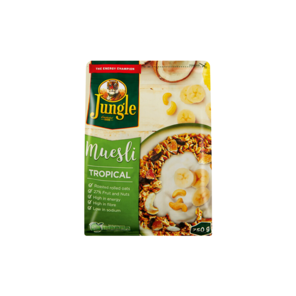 Jungle Museli Tropical 400g