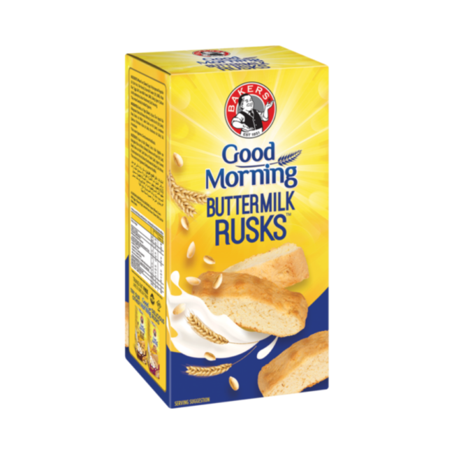 "Rich result on Googles SERP when searching for ""Bakers Good Morning Buttermilk Rusk"" 450g"