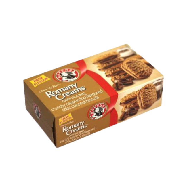 "Rich result on Googles SERP when searching for ""Romany Cream Cappuccino Biscuits""200g"