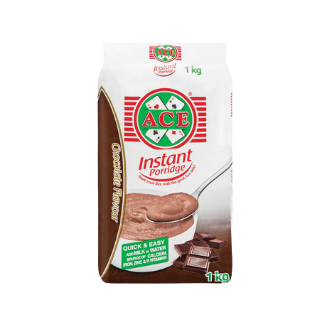 """Rich result on Googles SERP when searching for """"Ace instant porridge Chocolate"""" 1kg"""