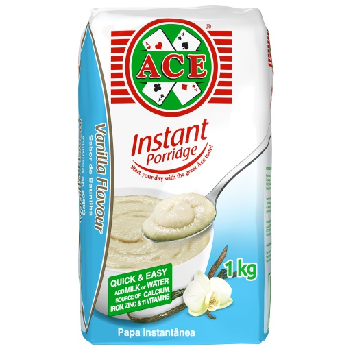 "Rich result on Googles SERP when searching for ""Ace instant porridge Vanilla"" 1kg"