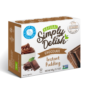 """Rich result on Googles SERP when searching for """"Simply Delish Chocolate Instant Puddingr"""""""