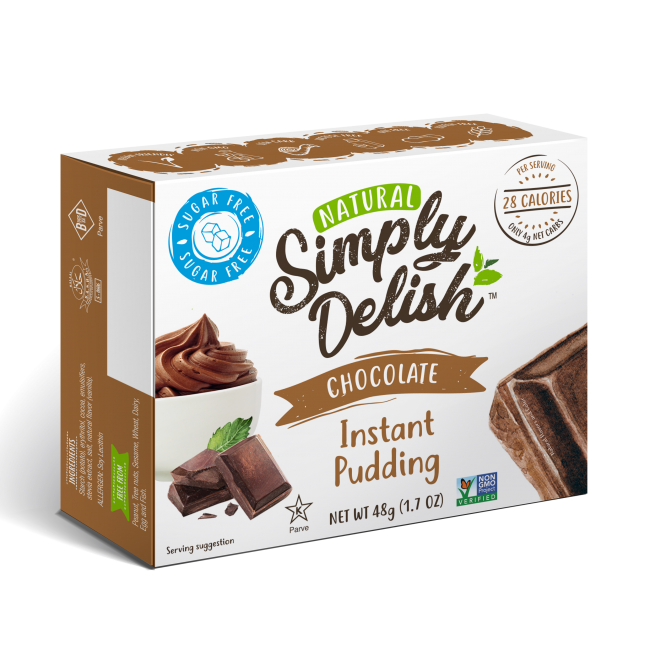 "Rich result on Googles SERP when searching for ""Simply Delish Chocolate Instant Puddingr"""