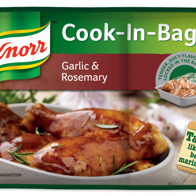 Knorr Cook in Bag - Garlic and Rosemary 54g