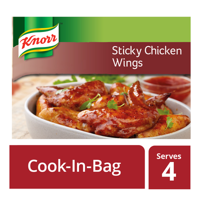 Knorr Cook in Bag - Sticky Chicken Wings 35g