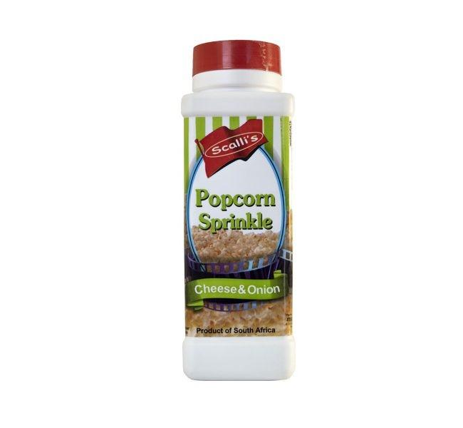 Scalli's - Popcorn Sprinkle Cheese & Onion 500ml