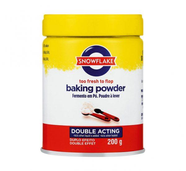 Snowflake - Baking Powder Tin 200g