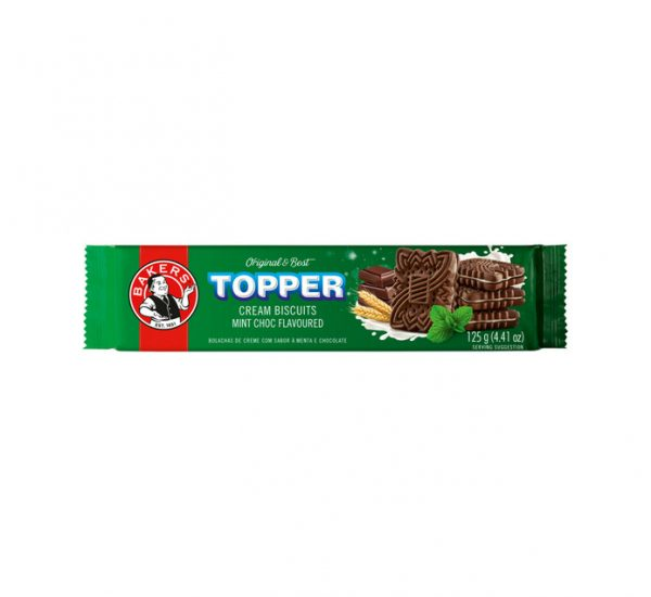 Bakers Topper Creams Choc Mint
