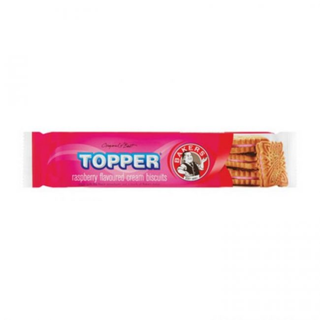 Bakers Topper Creams Raspberry