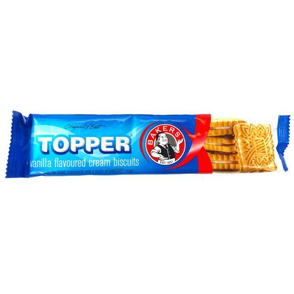 Bakers Topper Creams Vanilla