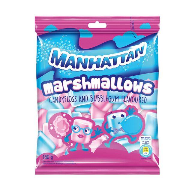 Manhattan Marshmallows Candyfloss and Bubblegum